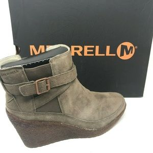 Merrell Tremblant Wedge Bootie Weather Traction